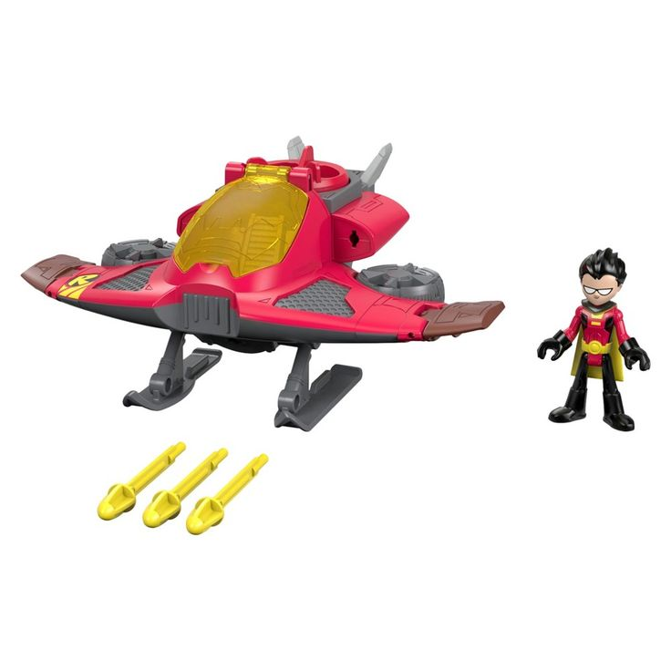 Fisher-Price Imaginext Teen Titans Go! Robin and Jet