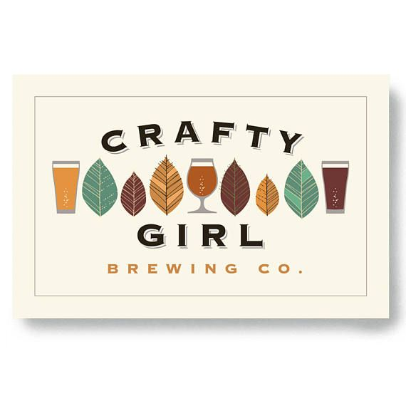 Craft Beer Gift Womens Beer Art Bar Sign Beer Art Beer Gift