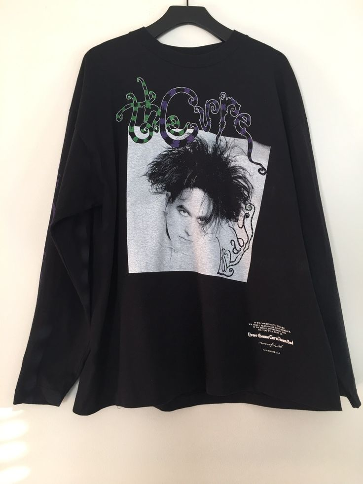 Fear Of God × Maxfield Los Angeles The Cure Band Tee Maxfield Exclusive Size M $1442 - Grailed