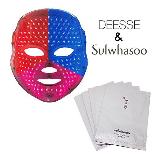 DEESSE LED FACIAL MASK Home Aesthetic Mask, Self-Care SBT-MLLT + Sulwhasoo Innerise Complete Mask Sheet 10EA (Special Gift) DEESSE LED FACIAL MASK Home Aesthetic Mask, Self-Care SBT-MLLT + Sulwhasoo Innerise Complete  Read more http://cosmeticcastle.net/deesse-led-facial-mask-home-aesthetic-mask-self-care-sbt-mllt-sulwhasoo-innerise-complete-mask-sheet-10ea-special-gift/  Visit http://cosmeticcastle.net to read cosmetic reviews
