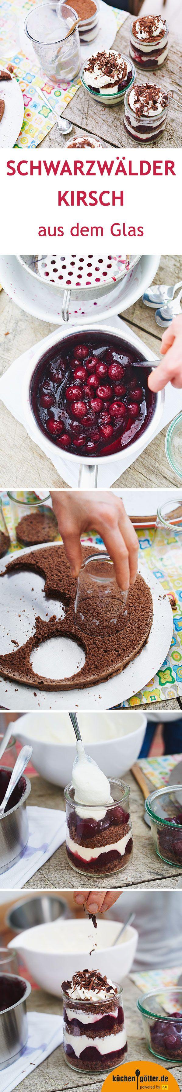 An eine Schwarzwälder Kirschtorte trauen sich viele nicht ran - aber diese Dessert-Variante im Glas ist ganz einfach und dazu in nur einer halben Stunde auf den Tisch gezaubert. So beeindruckt man Gäste!