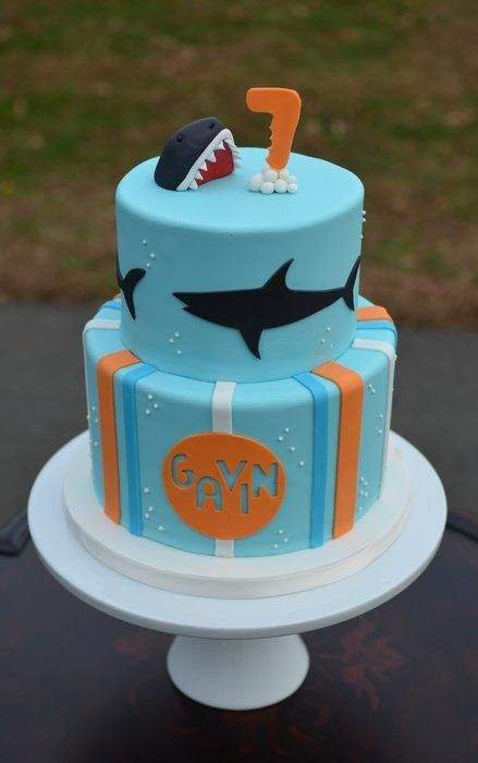 1000 Images About Shark Cakes On Pinterest Fondant