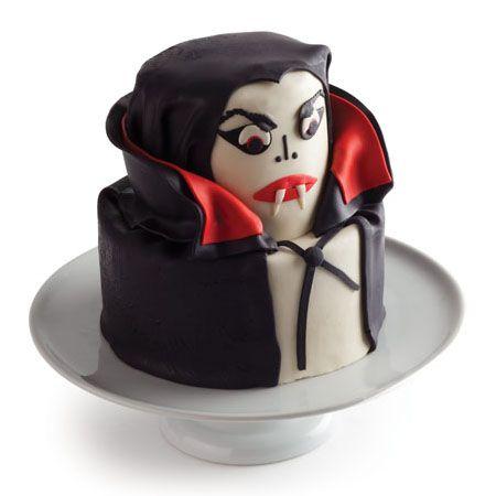 Vampire cupcake. Love!