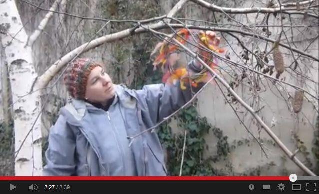 Kézműves Meska Kerti madárfészek koszorú készítése youtube video