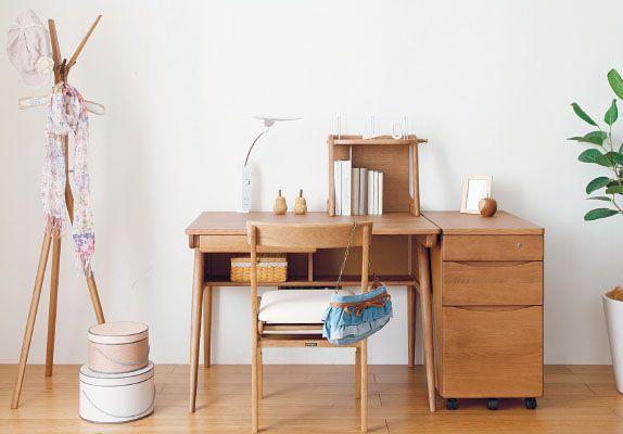 学習机ならカリモク家具|ピュアナチュール|おすすめ商品|カリモク家具 karimoku