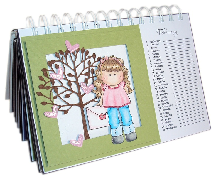 Calendar Binding Ideas : Images about book it hang punch with the
