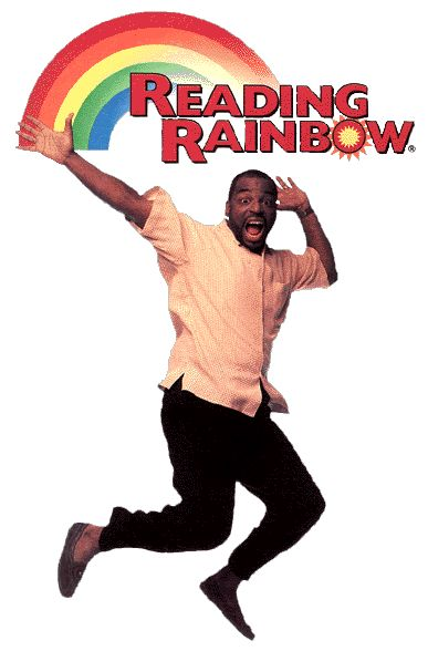 Take a look; it's in a book; reading raaainbow!