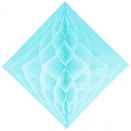 Tissue Paper Diamond (light blue)