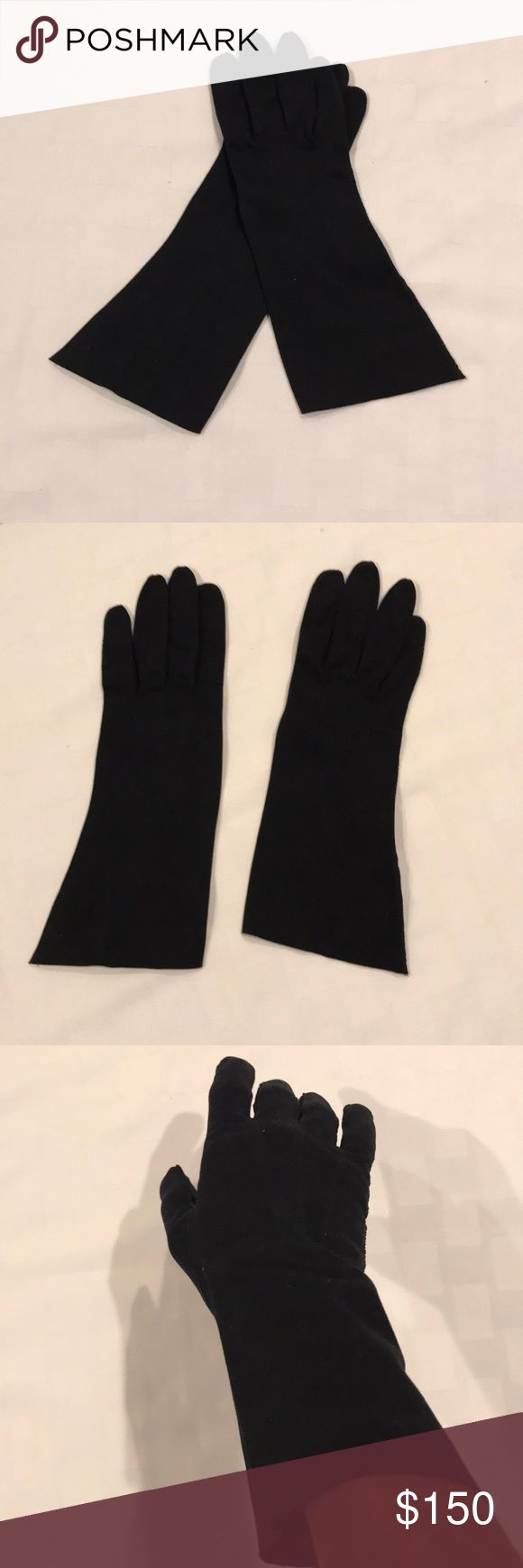 Evening Gloves Vintage medium height evening gloves. Circa 1960's and from a premier designer of Washington DC. Free gift with purchase🎁 Frank R. Jelleff Inc. Accessories Gloves & Mittens