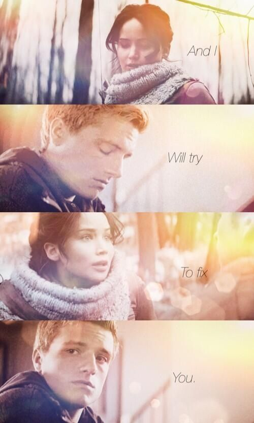 AAAAHHHH I'VE NEVER SEEN A HG EDIT WITH A COLDPLAY SONG (other than Atlas) Fix You by Coldplay !!!!!!!!!!!!!!!!!