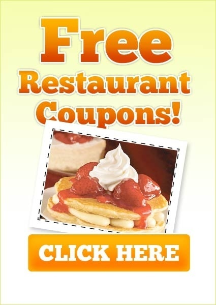Fast food discount coupons