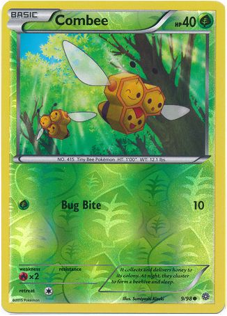 Combee 9/98 Pokemon TCG XY Ancient Origins, Reverse Holo ...