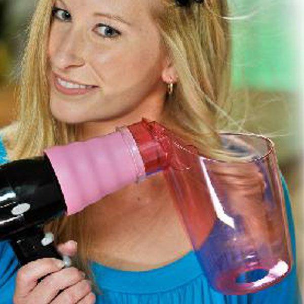 El rizador de pelo para secador Air Curler te permite crear ondas y rizos perfectos, evitando estresar el cabello con planchas tradicionales.