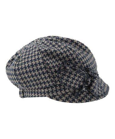 Another great find on #zulily! Blue Kendall Wool-Blend Newsboy Cap by Shiraleah #zulilyfinds