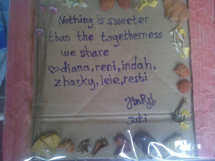 Ini hadiah dari Jati