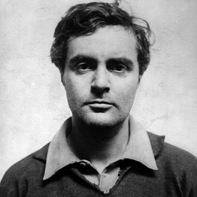 """Amedeo Modigliani, peintre italien vivant en France, appartenant à """"l'école de Paris"""""""