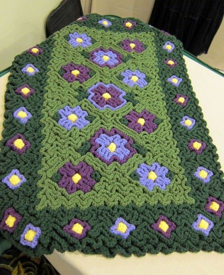 17 best images about trapillo on pinterest yarns hooks - Alfombras de trapillo ...