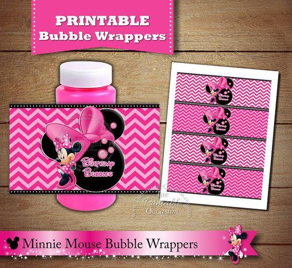 Bubble Wrappers Minnie Mouse Bubble Wraps by ThePrintableOccasion