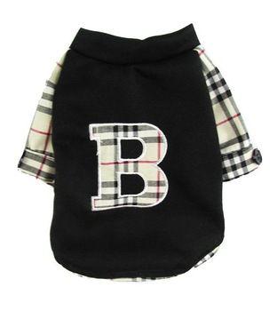 Новый 2015 одежда для собак товары для животных собак одежда сетка Baberry плед дизайн щенок рубашки куртки полноценно футболка пальто куртки