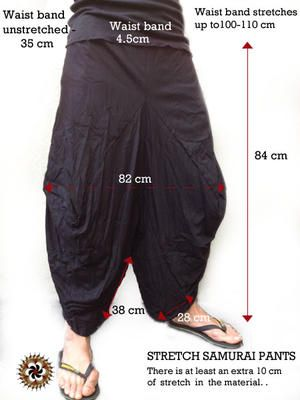how to make japanese farm pants
