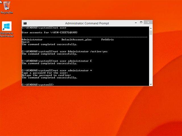 Activer le compte Administrateur caché de Windows 10