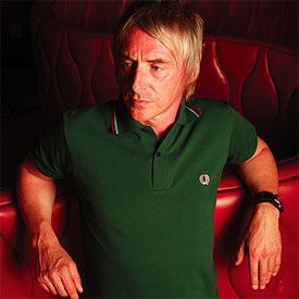 Paul Weller. Fred Perry.