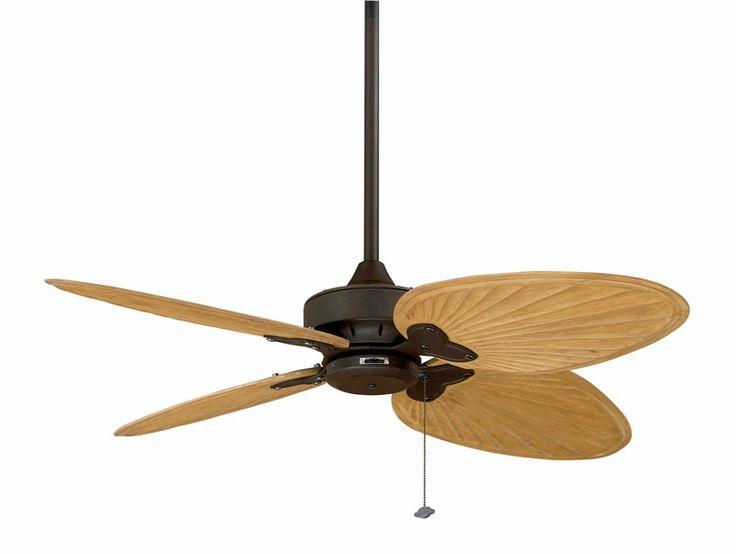fanimation fp7400rs windpointe 52 inch rust ceiling fan