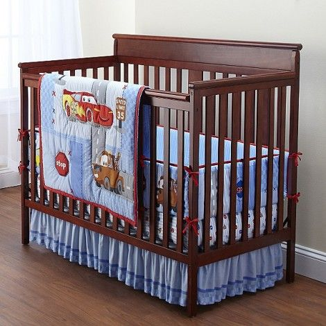 cars crib bedding 2