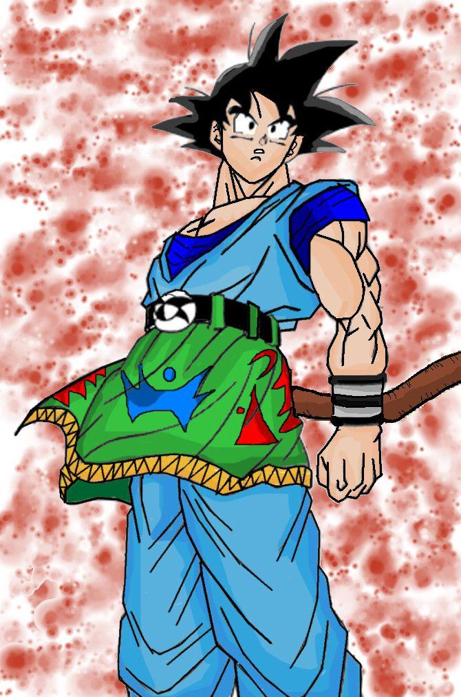 Goku af, my version by GOKU-AF on @DeviantArt