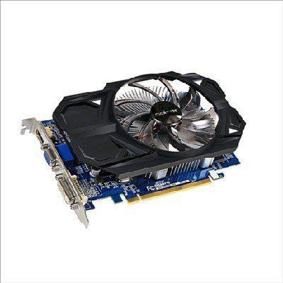 Видеокарта ПК Gigabyte Radeon R7 240 900Mhz PCI-E 3.0 2048Mb 1800Mhz 128 bit DVI HDMI HDCP (GV-R724OC-2GI)  — 4127 руб. —  Видеокарта Gigabyte PCI-E GV-R724OC-2GI AMD Radeon R7 240 2048Mb 128bit DDR3 780/1800/HDMIx1/CRTx1/HDCP Ret