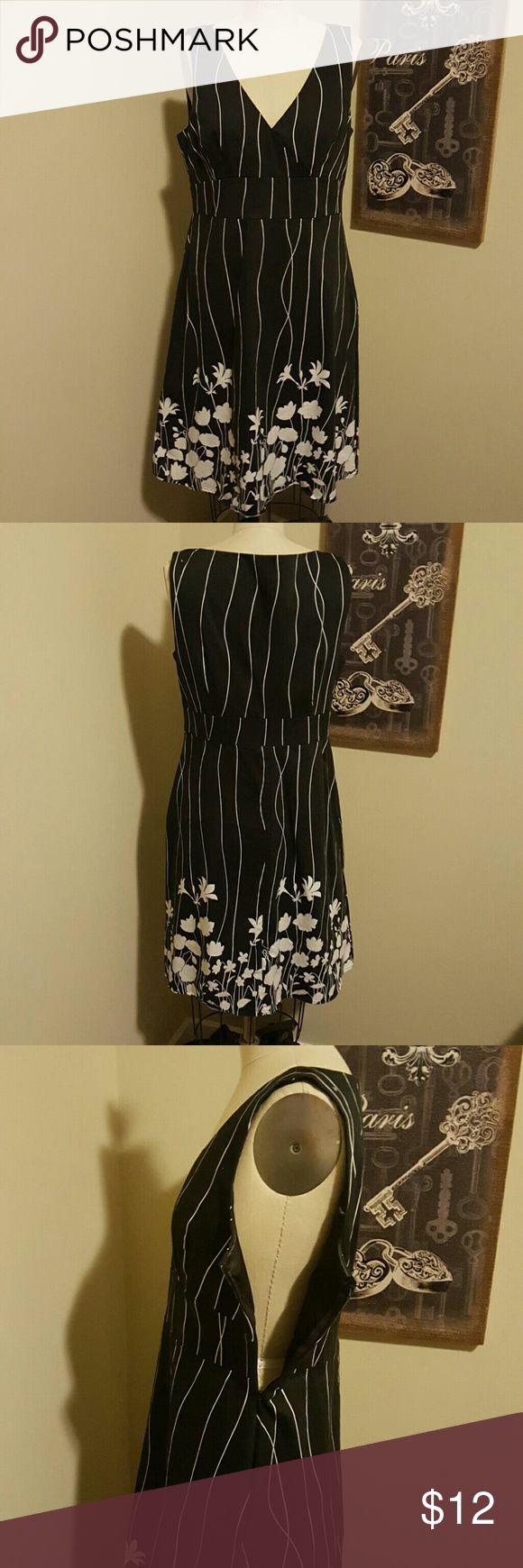 Spense Missy Dress Spense Missy Dress size 12 Black and White Sleeveless Spense Dresses
