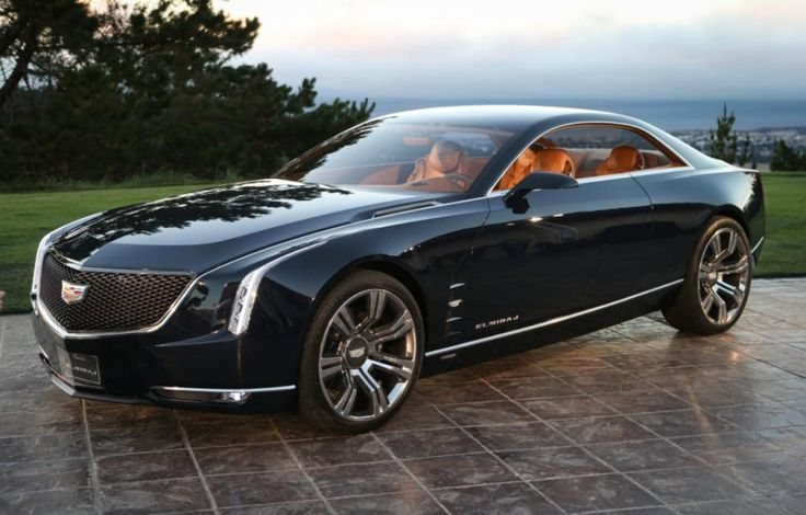 The gorgeous @cadillac #Elmiraj concept should be the basis for the looks of Caddy's upcoming flagship, #CT6
