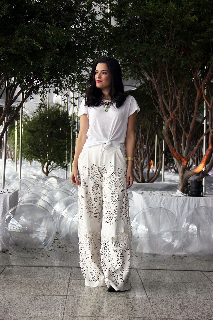 Look branco: como usar toda elegância do total white (50 fotos)
