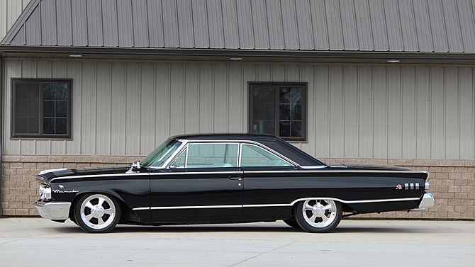 1963 Mercury Marauder S55 Fastback 390/300 HP, Automatic