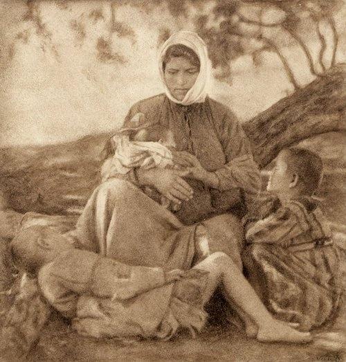 Photograph of Nelly's (Elli Souyioultzoglou-Seraidari) (1899-1998), Greek refugees from Asia Minor (Turkey).