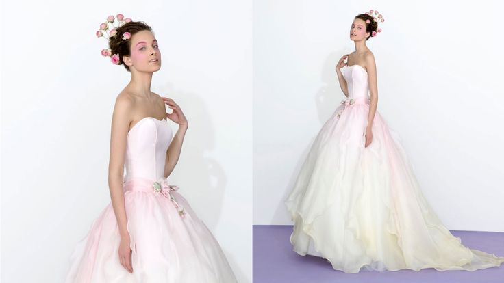 Ombre wedding dress  2013 Collection  www.atelieraimeebridalcouture.com