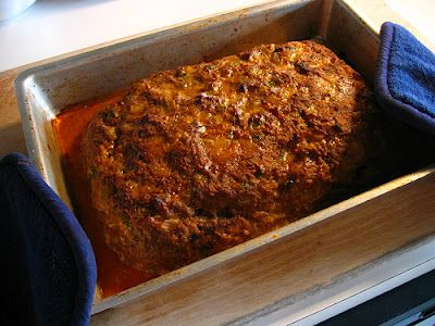 Cajun meatloaf. For over 20 years I have been known for my meatloaf. Well, here's the secret...it's a Paul Prudhomme recipe. NOTE: Instead of the spice mix blend in the recipe, use Paul Prudhomme's Meat Magic, which you can get in any spice section. It's not as spicy as this person says. It works great with any combo of ground meats. Enjoy!