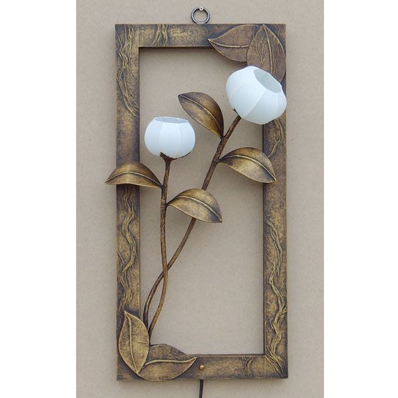 Wall Paper Lamp Lighting Shades with Picture Frame Design