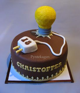 48 best Electrician Cakes images on Pinterest Birthday cakes
