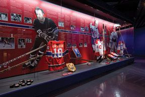 Montreal Canadiens Hall of Fame at the Bell Center