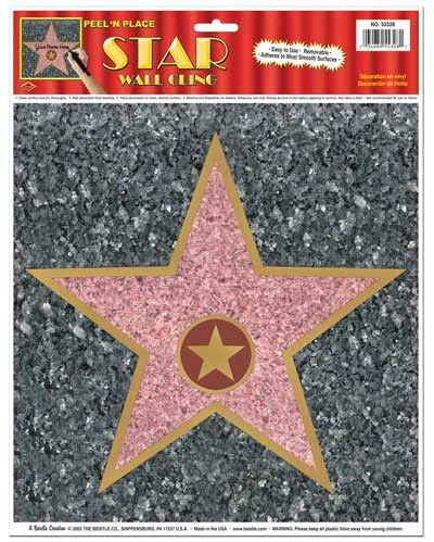 Star Peel-N-Place for $2.23 in Hollywood Scene Setters - Scene Setters - Party Supplies