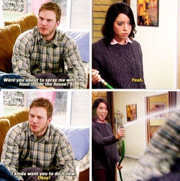Andy and April