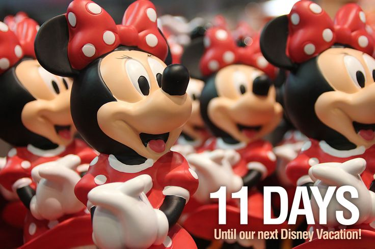 11 Days Until Our Next Disney Vacation We Are Counting