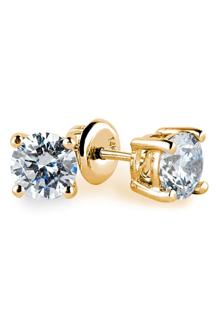 Diamond 4-Prong Studs