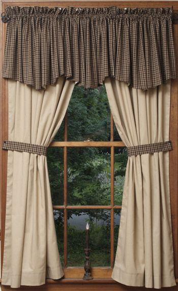 Best 25+ Primitive curtains ideas on Pinterest