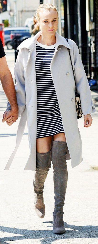 7cff0a5e38 11 maneras de usar botas arriba de la rodilla (según las celebridades)