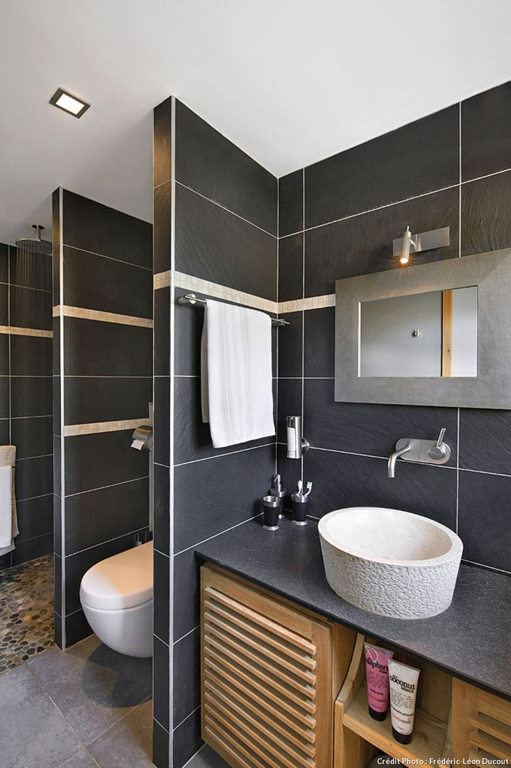 Chalet la clusaz la salle de bains chambre montagne for Chambre italienne moderne