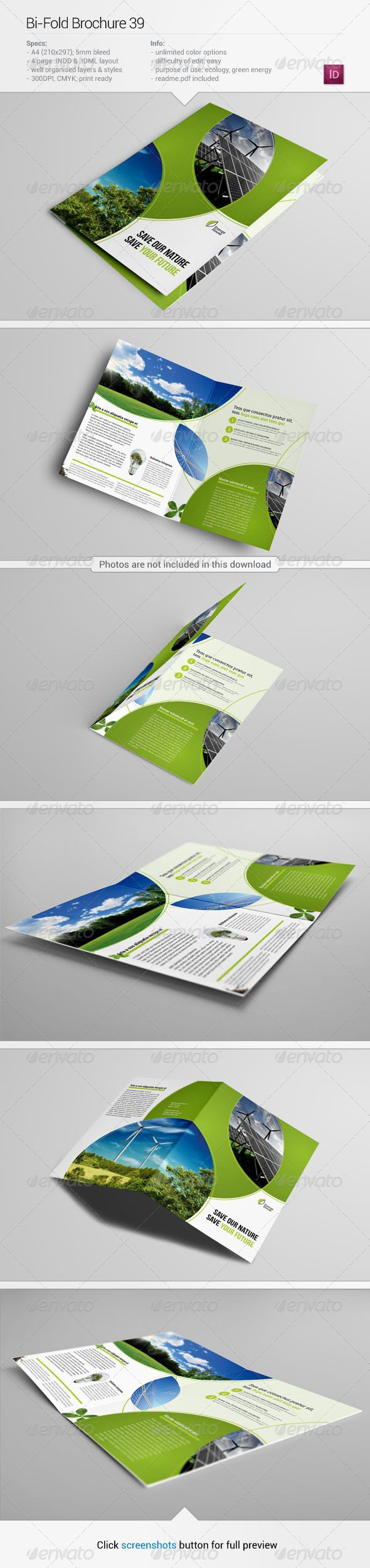 Bi-Fold Brochure 39 by Demorfoza                                                                                                     About this item Description: