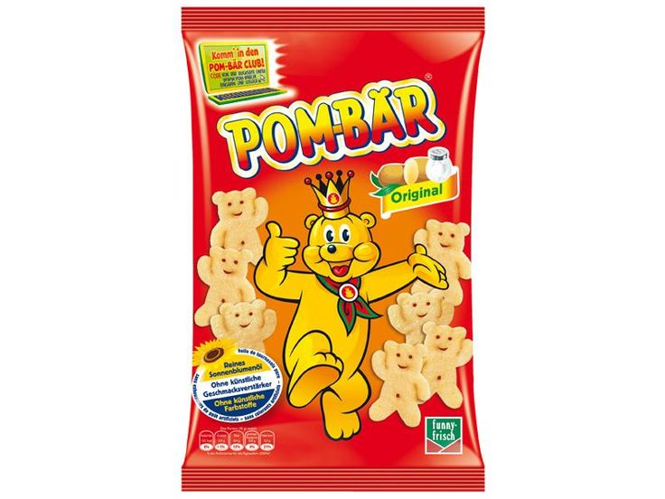 Pombar (Pombär) chips are delicious & addicting little crisps shaped like teddy bears.  I honestly can eat the whole bag by myself.