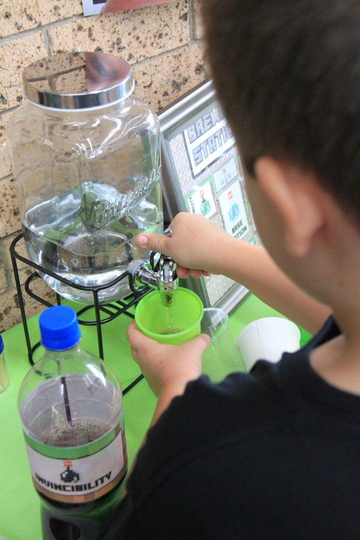 Brewing the jar and minecraft on pinterest